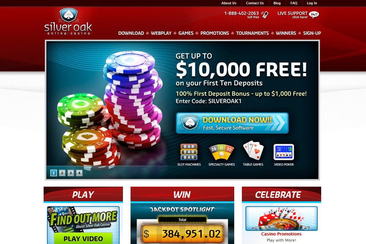 Silver Oak Casino Review Casinoglow Com